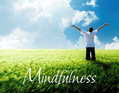 Mindfulness aims to pay attention to the present moment